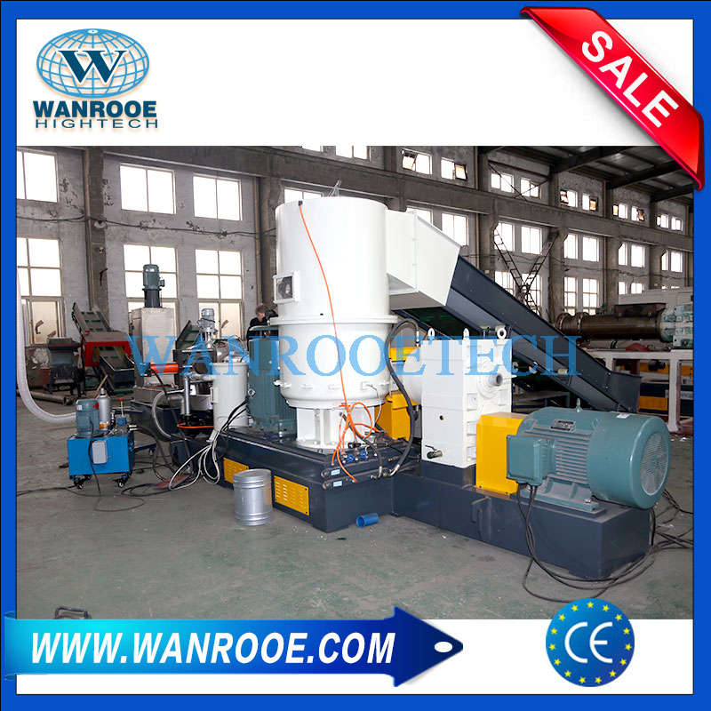 Plastic Pellet Making Machine, Plastic Film Granulator Machine, Plastic Pelletizing line, Plastic Film Pelletizing Machine