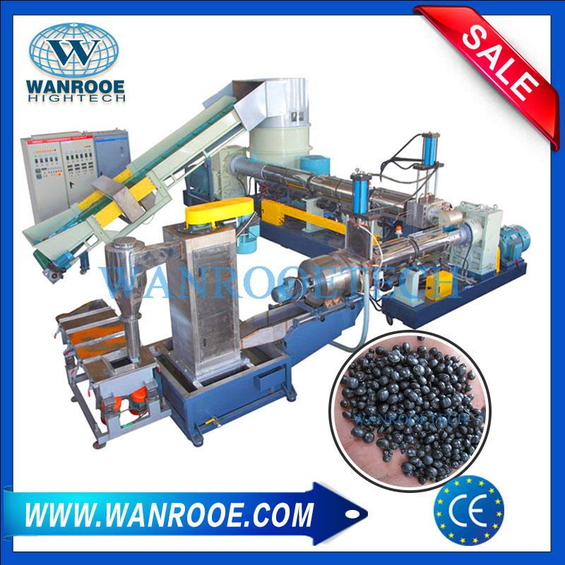 Plastic Pelletizer Machine, Plastic Pelletizing, Plastic Recycling Pelletizer Machine, Water Ring Pelletizer, Plastic Scraps Pelletizing Line
