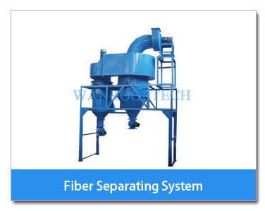 Fiber separating System