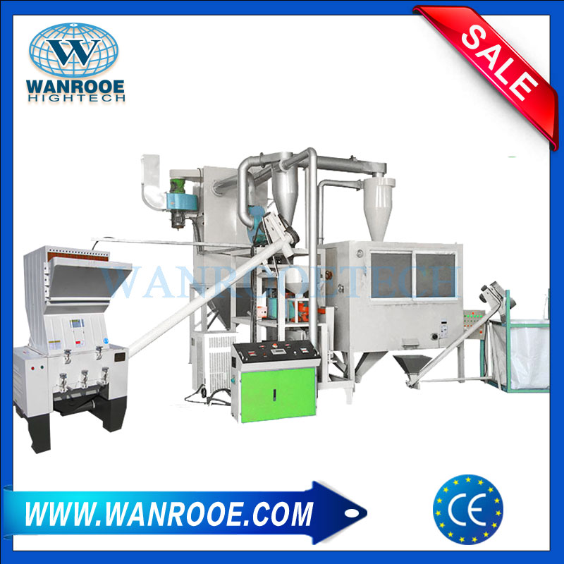 Aluminum Plastic Recycling System, Medicine Board Recycling Machine, Aluminum Plastic Recycling, Aluminum Plastic Pipe Separator Machine