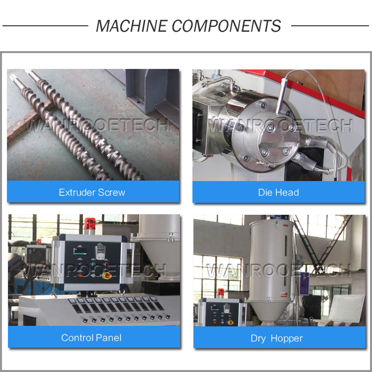 Plastic Extruder Machine, Single Screw Extruder, HDPE Pipe Extruder,Plastic Pipe Extrusion